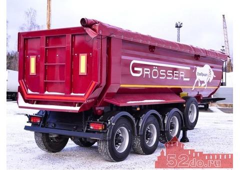 Самосвальный полуприцеп GROSSER F34, 4х-осный, 34м3