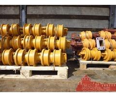Катки, натяжные и ведущие колеса на бульдозера ЧТЗ Уралтрак Т-130, Т-170, Б-10.