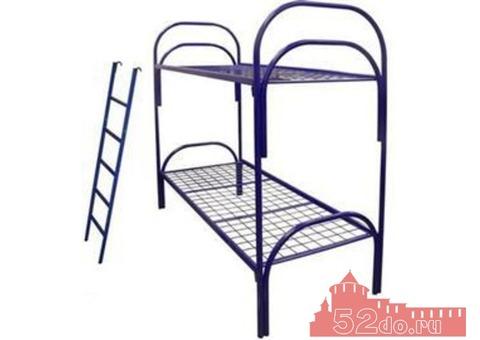 Металлические кровати двухъярусные и трехъярусные