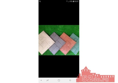 Плитка полимерпесчаная 33х33х22 25х2нх2х