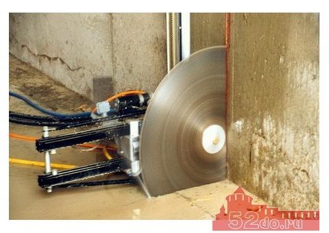 Алмазное бурение / алмазная резка бетона