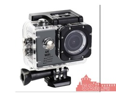 Экшн-камера digma DiCam 300 4K, WiFi(НОВАЯ)