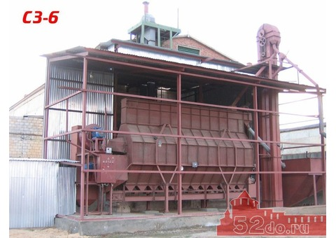 Зерносушилка СЗ-6 неликвид с хранения до 10 тонн/час