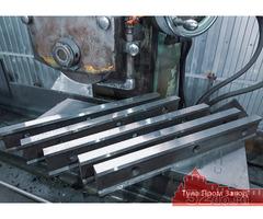 Продажа от производителя гильотинных ножей 510 60 20, 520 75 25, 550 60 20, 590 60 16мм.
