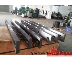Ножи для гильотинных ножниц 670 60 25мм от завода производителя в наличии