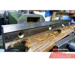 Купить нож для гильотинных ножниц стд-9 с размером 510 60 20мм на заводе