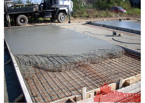 Продажа, заказ, поставка бетона, раствора с доставкой.