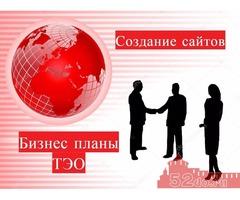 Бизнес план составление. Создание сайтов.