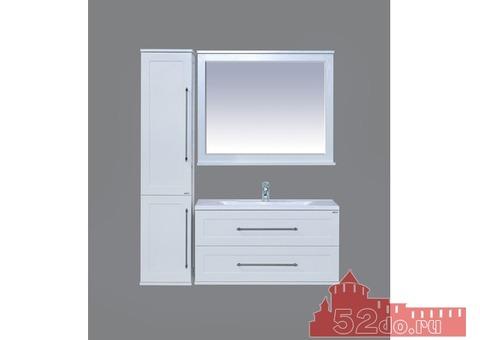 Мебель для ванной Марта 100 подвесная, белая Производитель: Misty