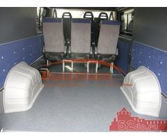 Защита колёсных арок в микроавтобус Форд Транзит