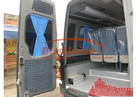 Шторки турецкого производства для микроавтобусов и автобусов Форд Транзит