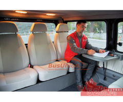 Столик автомобильный в микроавтобус универсальный
